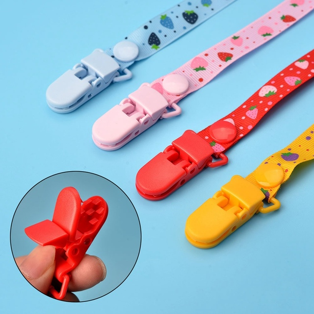 New Baby Pacifier Clip Pacifier Chain Dummy Clip Nipple Holder For Nipples Children Pacifier Clips Teether Anti-drop Rope