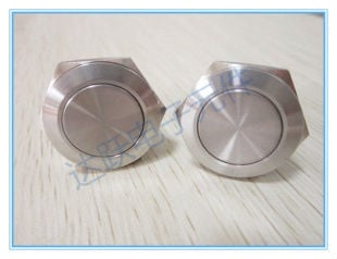19mm metal push button switch,with waterproof function,Stainless steel switch,momentary type