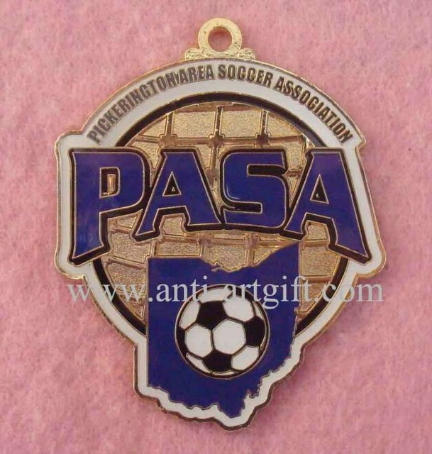 Football Medals Customized According to Your Design