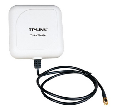 TP-LINK TL-ANT2409A 2.4GHz 9dBi Directional Antenna,802.11n/b/g, RP-SMA Male connector, 1m/3ft cable