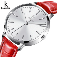 IK colouring Watch Women Watches Ladies 2018 Brand Luxury Famous Female Clock Quartz Watch Wrist Relogio Feminino Montre Femme