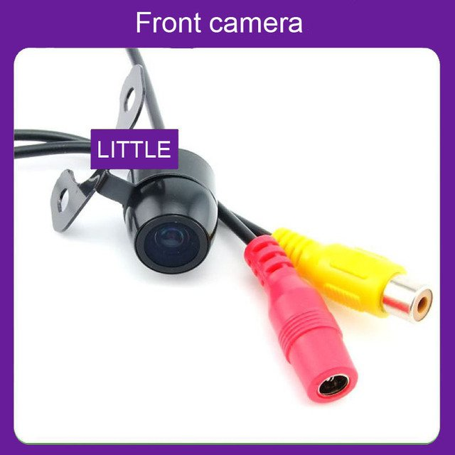 Front  car camera  without parking line mini car camera waterproof Rear view back up ccd hd camera  parking camera Free shipping