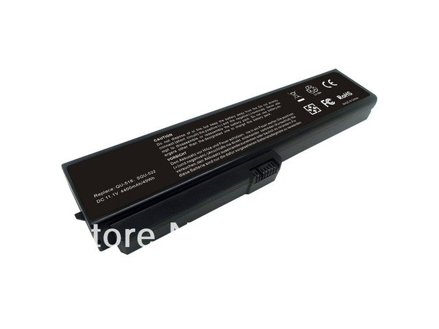 Free Shipping Laptop Battery For Fujitsu-Siemens Amilo Si1520,V3205 Replace SQU-518, SQU-522