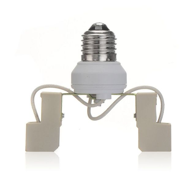Hot sales  E27 to R7S Adapter Converter Led Halogen CFL light bulb lamp adapter R7S to E27 converter New 20pcs