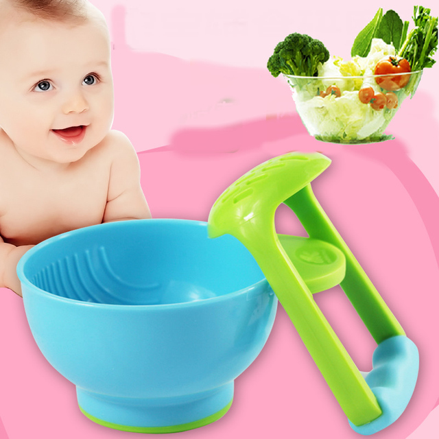 Baby food feeding Food Grinder Fruit Food Press Machine Safety Processor Kid Dish Feeder 2019 New Babies Food Mills Tools For