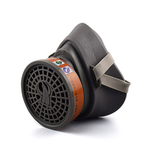 Painting Spraying Gas Mask Respirator Activated Carbon Mask Anti-particulate Filters Anti-dust Anti-fog Mask