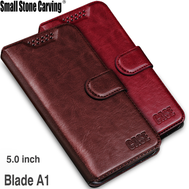 card holder cover case for ZTE Blade A1 C880A Pu leather case Soft Silicone Wallet Holster flip Phone case for ZTE Blade A1 Capa