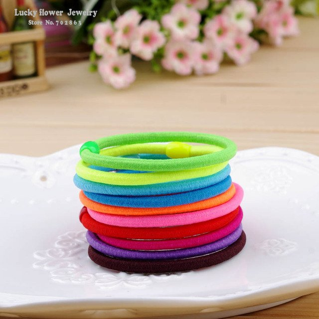 hair  band hair accessories black plus velvet hair rope colorful  headband color