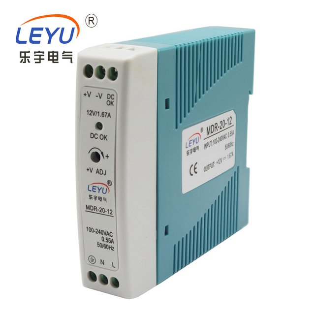 High quatity Low cost MDR-20-15 single output 20w 15v ac-dc switching power supply