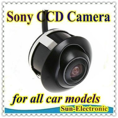 SONY CCD HD night vision car rear view camera front view rear view monitor for 360 degree Rotation Panoramic Universal camera