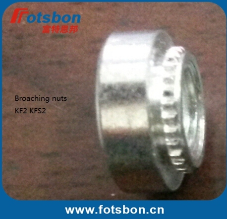 KFS2-M2   Broaching Nut , Use in PCB, in stock, PEM standard, made in china