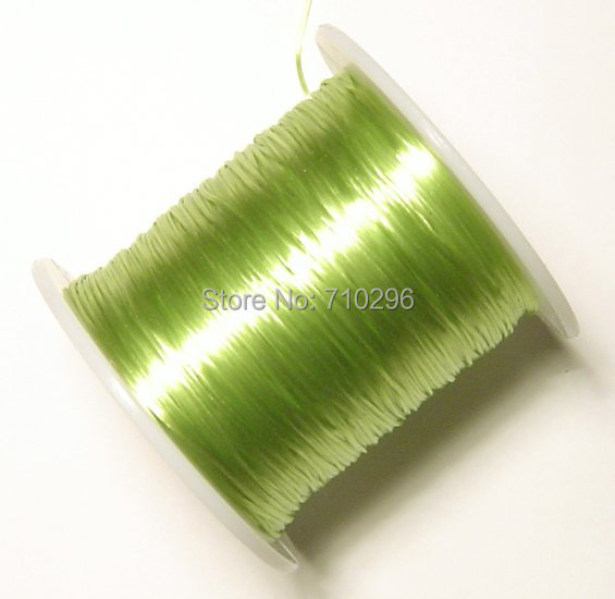 Beading string Threading materials100 metres of strong and stretchy Green Elastic