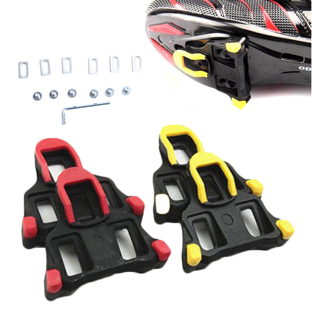 EYCI Bicycle Shoes Splint Juji Line Locking Plate Mountain Road Bike Shoes Cleats SPD System Cycling Shoe Cleats