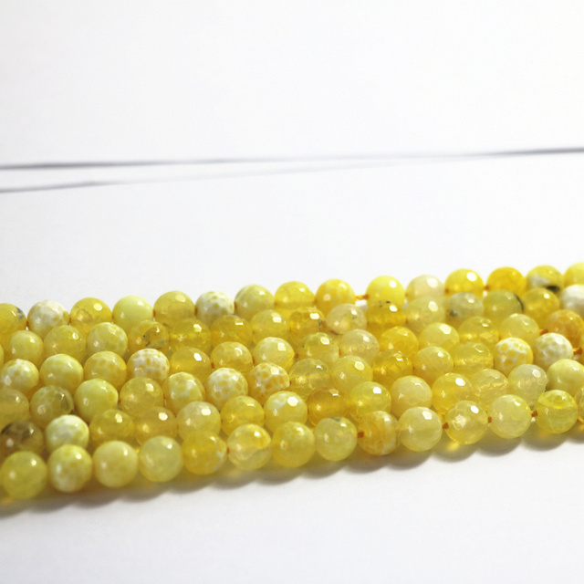 Natural Yellow agat stone carnelian onyx 6mm 8mm 10mm new stone faceted round loose beads diy jewelry  15 inches A20