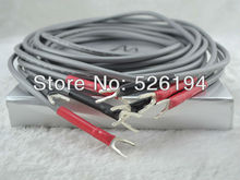 Free shipping pair Audio Note AN-SPXII audio speaker cable banana terminal speaker cables with original box