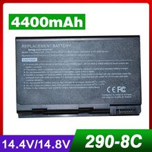 4400mah laptop battery for ACER Aspire 9010 9100 9500  Series TravelMate 2350 290 291 29X 4150 4650