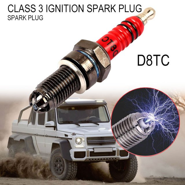 Spark Plug 150 200 Cc CF 250 Autocycle Motorcycle Alloy Scooter Ignition Moped Scooter 3 Electrode D8TC Electrical Autobike