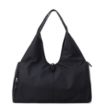 Fashion Solid Color Travel Duffle Bag Waterproof Oxford Travel Hand Bags Large Capacity For Outdoor Week Yoga Fitness Sports Bag