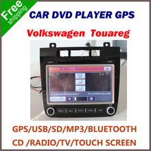 Free Shipping Car DVD Player for Volkswagen VW TOUAREG 2012, Built-in GPS,Cassette Player,CD Player,,Charger,FM Transmitter