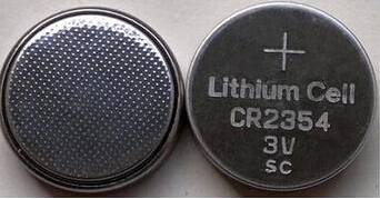 Free shipping 5pcs/lot 3v CR2354 lithium button cell battery limno2 coin cell battery