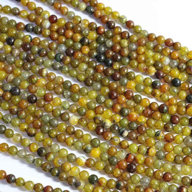 Yellow Dragon Vein natural stone agat carnelian onyx 6mm 8mm 10mm 12mm natural stone round loose beads making Jewelry A35