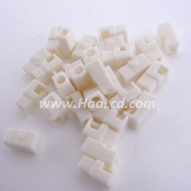 20pcs x CCFL Harness Silicon End Cap for Laptop CCFL Backlight Lamp Diameter: 2.0mm Free Shipping