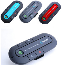 C703 New 2014 Wireless Stereo Bluetooth Handsfree Speakerphone Car Kit With Charger Hands Free Bluetooth Car Kit