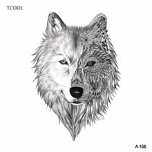 Hxman Wolf Temporary Tattoo Sticker Waterproof Women Body Art Tatoo Animal Hand Tattoos Paper 9 8x6cm A 151 Buy Cheap In An Online Store With Delivery Price Comparison Specifications Photos And Customer Reviews