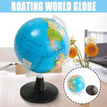 8.5cm Mini Globe World Earth Ocean Map Plastic Sphere Geography Learning Education Toys Home Decoration Childrens Gifts