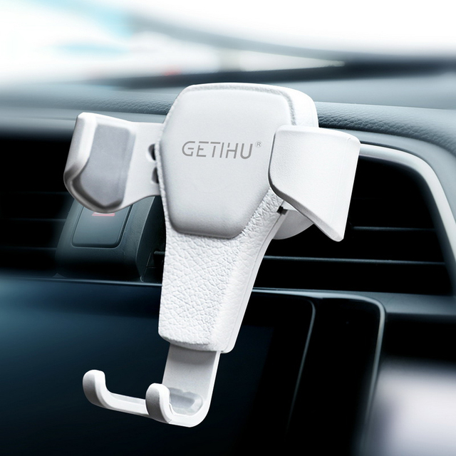 GETIHU Gravity Car Holder Air Vent GPS Stand Mount Mobile Phone Cell Stand Support In Car For iPhone 12 11 Pro XS 7 8 Max Huawei