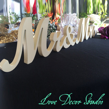 Free shipping   Pure white mr&mrs sign set. Wedding sign set. Sweetheart table decor wooden signs.