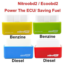 Tuning Box Chip 4 Colors Auto Eco OBD2 Car Eco OBD2 Petrol Saving Gas Saving Fuel Saver Economy Eco OBD2 Professional