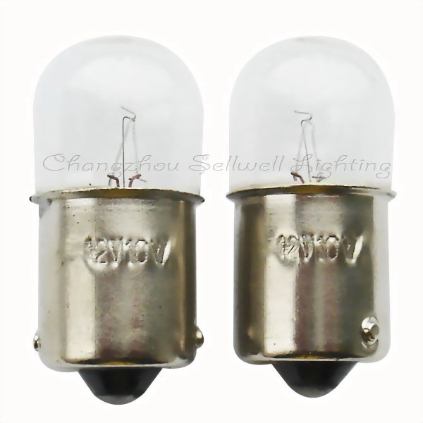 Miniature Lamps Bulbs Light Ba15s T16x36 12v 10w 10pcs A002