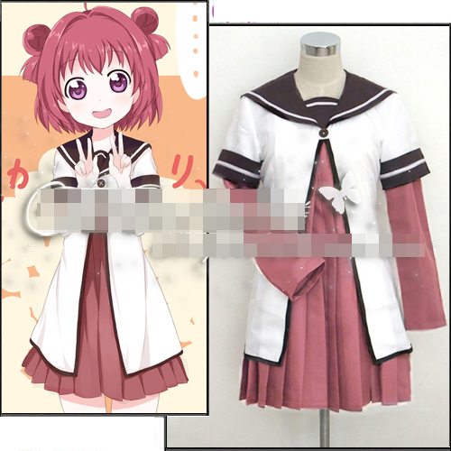 Yuruyuri Akaza Akari school uniform cosplay costume