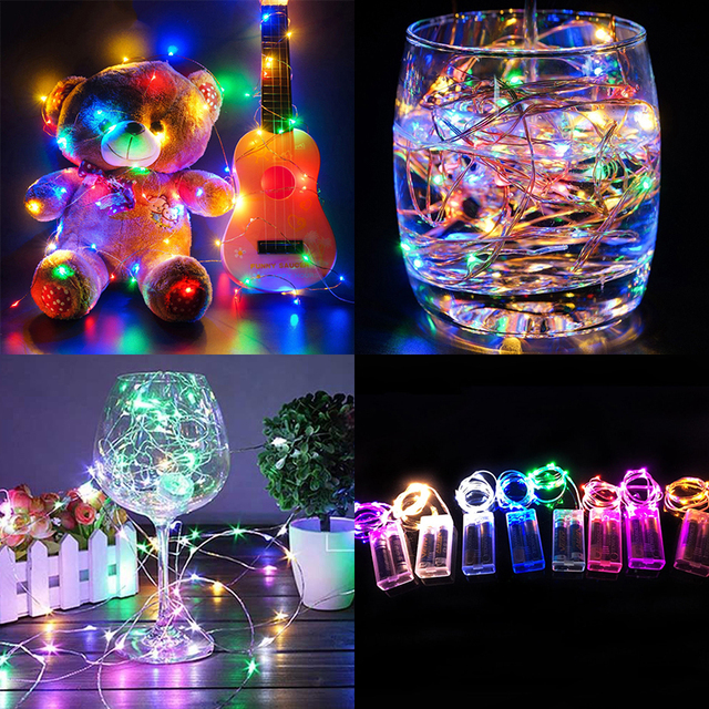 30LED Fairy String Light Durable Yard Fairy Light Landscape Lamp Garden Fairy String