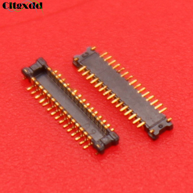 cltgxdd 30 pin For Samsung Galaxy J100 LCD display FPC Connector Socket port Plug On Motherboard repair replacement 30pin