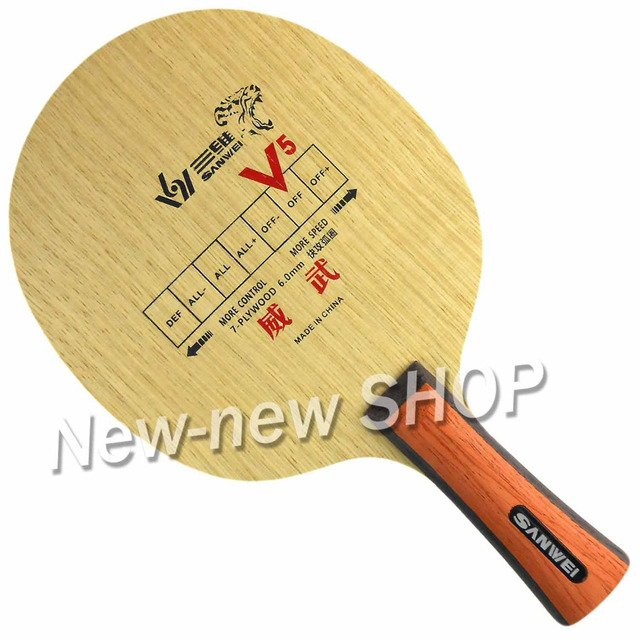 Sanwei V5 Intrepid V 5 V-5 Table Tennis PingPong Blade