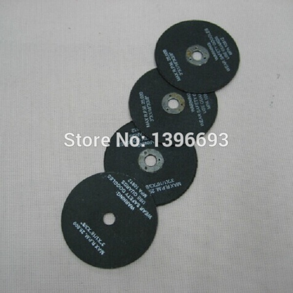 "10pcs/lot ,3""x1/12""x3/8"" metal cutting discs ,75x2.0x10mm Abrasive Discs for metal cutting tools. Metal cutting circular saw"