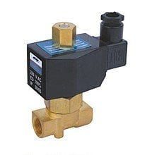"""Free Shipping 5PCS 2 Way Solenoid Operated Pneumatic Air Valve Brass 1/4"""" 220V AC"""