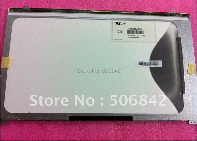 """15.6""""laptop LED  screen    LTN156AT18     Brand new A+1366 x 768"""