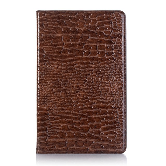 Crocodile leather funda stander case for Samsung Galaxy Tab A 8.0 SM-T350 SM-T355 Smart magnetic cover case for Samsung Tab A