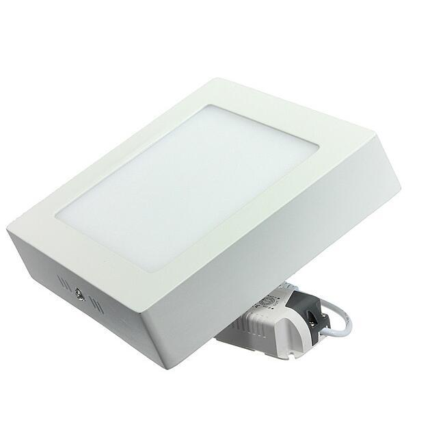 6W Square Led Panel light Surface Mounted kitchecn Ceiling lamp indoor lighting AC 85-265V Free shipping