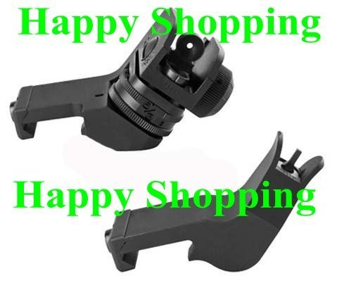 Metal rapid transiti sight set Front and Rear scope sights