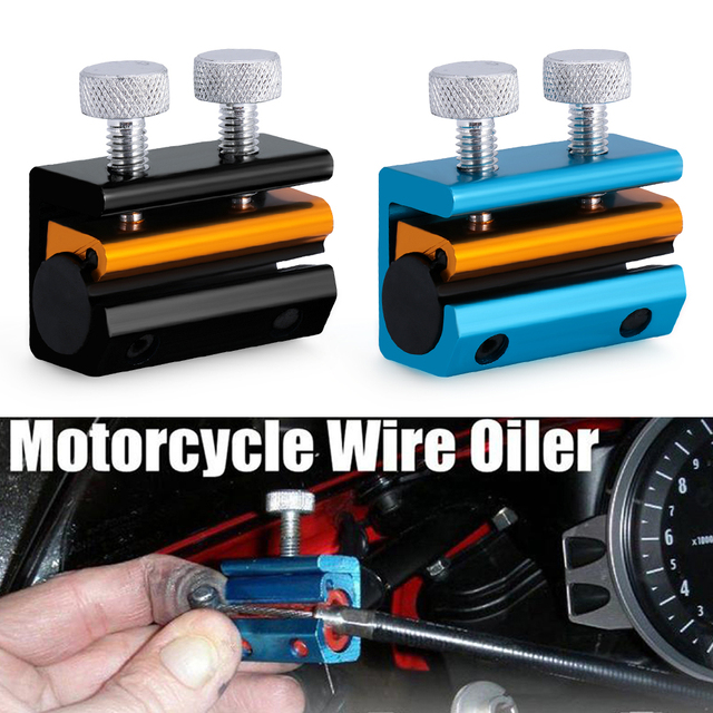 Dual Cable Lube Luber Lubricator Lubricant tool Motorcycle Scooter Bike ATV Motorcycle Accessories & Parts
