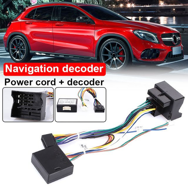 2019 Navigation Line Navigation Decoder Dedicated Auto Parts Agreement Box for Steering Wheel Control for VW Drop Shipping