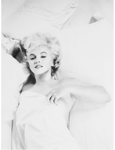 Marilyn Monroe's Black and White Classical Retro Canvas Hanging Paintings/Photos for Home/Coffee Shop Decoration