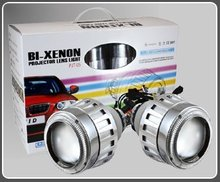 35W HID Bi-Xenon Projector Lens 2.5  Light/ hid angel eyes G5/ xenon hid projector lighting
