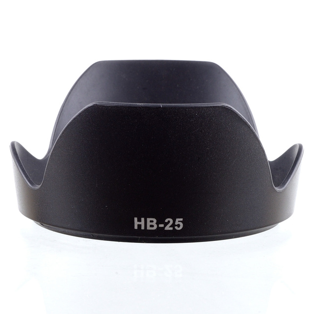 Lens Hood HB-25 for Nikon AF 24-85mm f/2.8-4D AF-S VR ED 24-120mm f/3.5-5.6G IF