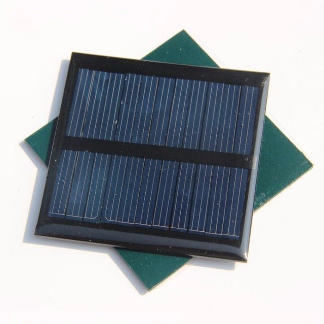 BUHESHUI 0.6W 5.5V Solar Cell Module Polycrystalline DIY Solar Panel Charger For 3.7V Battery Epoxy 65*65mm 3pcs Free Shipping