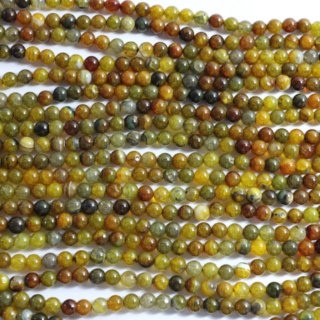 Natural Yellow Dragon Vein Agat stone carnelian onyx 6mm 8mm 10mm 12mm new fashion round loose beads diy jewelry 15inches A35